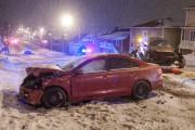 Une collision s'est produite vers 18h30, sur le... (Photo Le Progrès-Dimanche, Michel Tremblay) - image 3.0