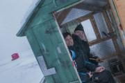 Nathalie Pineault et Don Huard attendaient l'ouverture de... (Photo Le Progrès-Dimanche, Michel Tremblay) - image 3.0