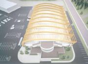 Le toit en bois lamellé-collé serait du genre... (Reproduction) - image 2.1
