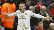 Wayne Rooney a marqué le seul but du... (PHOTO CARL RECINE, REUTERS) - image 2.0