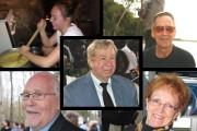 Camille, Gaston, Raymond, Bertrand et Claire Rousseau se... (Photos courtoisie) - image 1.0