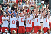 Eugenie Bouchard était supportée par sa «Genie Army».... (Photo Peter Parks, AFP) - image 1.0