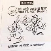 Caricature de Riss dans Charlie Hebdo... (IMAGE TIRÉE DE TWITTER) - image 5.0