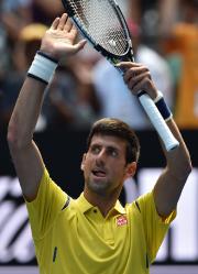 Novak Djokovic a déclaré qu'il avait été victime... (Photo Saeed Khan, AFP) - image 2.0