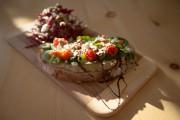 La Paysanne, au caviar d'aubergines et tomates confites,... (PHOTOIVANOH DEMERS, LA PRESSE) - image 1.0