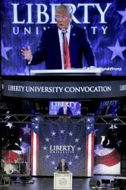 Le disscours de Donald Trump a été retransmis... (PHOTO REUTERS) - image 2.0