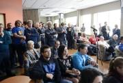 Plusieurs militants du Parti québécois étaient présents lors... (Photo Le Quotidien, Jeannot Lévesque) - image 1.0