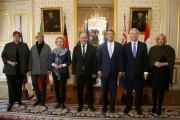 Les ministres de la Défense des sept pays... (PHOTO JACKY NAEGELEN, REUTERS) - image 1.0