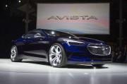 La Buick Avista Concept... (PHOTO JIM WATSON, AGENCE FRANCE-PRESSE) - image 1.1