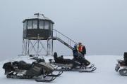 Au sommet du Mont-Apica, considéré comme le toit... (Photo Le Quotidien, Denis Villeneuve) - image 2.0