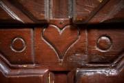 Détail de l'armoire aux coeurs... (Le Soleil, Erick Labbé) - image 1.0