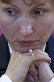 Marina Litvinenko s'est déclarée «très satisfaite» à l'AFP... (Photo Agence France-Presse, Justin Tallis) - image 2.0