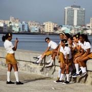 Jeunes filles après leur journée d'école.... (Photo tirée du compte Instagram de Desmond Boylan.) - image 1.1