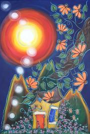 Avec leurs maisons dansant au sommet des collines... (Vincent Cotnoir) - image 2.0