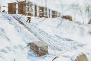 Le planchiste de Trois-Rivières fait souvent la une... (Olivier Croteau) - image 1.1