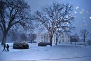 La Maison-Blanche sous la neige.... (PHOTO BRENDAN SMIALOWSKI, AFP) - image 2.0