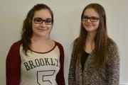 Jany Boudreault et Joanie Bergeron, de l'école secondaire... (Photo courtoisie) - image 4.0