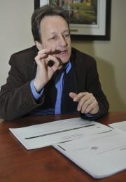 Le directeur général du Conseil des arts de... (Photo Le Progrès-Dimanche, Rocket Lavoie) - image 2.0