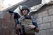 James Foley à Alep, en Syrie, en 2012.... (PHOTO ARCHIVES AP) - image 2.0