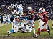 Cam Newton a franchi la ligne des buts... (AP, Mike McCarn) - image 6.0