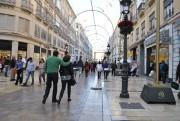 La « calle Larios »... (PHOTO LAILA MAALOUF, LA PRESSE) - image 4.0