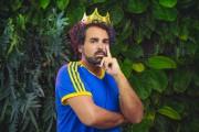 King Abid monte sur les planches pour partager... (Stéphane Bourgeois) - image 5.0