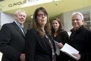 Les conseillers indépendants Pierre Tardif, Hélène Dauphinais, Annie... (La Tribune archives, René Marquis) - image 2.0
