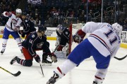 Brendan Gallagher a déjoué le gardien des Blue... (PHOTO REUTERS) - image 2.0