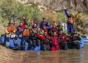 Au total, 16 personnes faisaient partie de l'aventure... (Photo fournie par Pascal Girard) - image 1.0