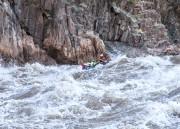Sur le fleuve Colorado, 70 rapides attendaient les... (Photo fournie par Pascal Girard) - image 1.1