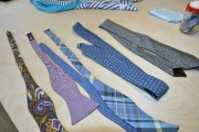 Prototypes denoeuds papillon et de cravates créés pour... (Le Soleil, Jean-Marie Villeneuve) - image 3.1