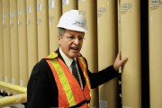 Le maire de Saguenay, Jean Tremblay, a fait... (Photo Le Quotidien, Mariane L. St-Gelais) - image 1.0