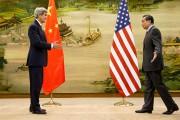 Le secrétaire d'État John Kerry et son homologue... (PHOTO JACQUELYN MARTIN, REUTERS) - image 1.0