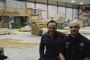 Patrick et François Girard, deux des propriétaires de... (Patricia Rainville, Le Quotidien) - image 1.0