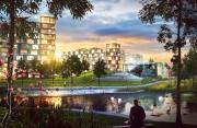 Il y aura notamment un parc avec un... (ILLUSTRATION FOURNIE PAR DEVIMCO IMMOBILIER) - image 14.0