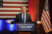 Donald Trump, qui boycottait le débat de FOX,... (PHOTO WILLIAM EDWARDS, ARCHIVES AFP) - image 2.0