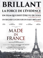 L'affiche du film Made in France... (IMAGE FOURNIE PAR LA PRODUCTION) - image 1.0