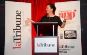 Louise Boisvert, présidente et éditrice de La Tribune... (Archives La Tribune, Jessica Garneau) - image 1.0