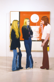Mondrian au coucher, 1973-1974, d'Edmund Alleyn, acrylique sur... (PHOTO FOURNIE PAR LE MAC) - image 3.0