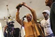 Une citoyenne de Flint lors d'une assemblée populaire... (AP, Kimberly P. Mitchell) - image 2.0