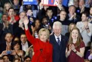 Hillary Clinton était aux côtés de sa fille... (PHOTO AP) - image 2.0