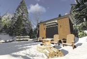 L'abri forestier Kampa tient sur 20m2 et est... (Fournie par Maelström immobilier) - image 4.0