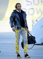 Cam Newton à l'aéroport de San José.... (PHOTO AP) - image 2.0