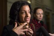 Dominique Anglade, la nouvelle ministre de l'Économie, y... (La Presse Canadienne) - image 1.1
