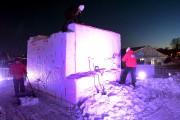 Les équipes ont débuté le travail hier.... (Le Soleil, Erick Labbe) - image 1.0