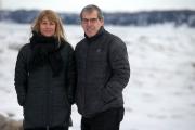La copine et le père de Jean-Philippe, Ingrid... (Photo François Roy, La Presse) - image 3.0