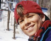 Jean-Philippe Auclair, enfant, au mont de ski Stoneham,... (Photo fournie par la famille) - image 4.0