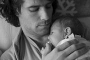 Jean-Philippe Auclair et son fils Léo, au printemps... (Photo fournie par Ingrid Sirois) - image 13.0