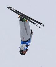 Olivier Rochon est monté sur le podium du... (George Frey, AP) - image 1.0
