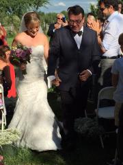 Mathilde Boucher-McGraw et Marc-André Chabot se sont mariés... (PHOTO GENEVIÈVE RINGUET, FOURNIE PAR MATHILDE BOUCHER-MCGRAW ET MARC-ANDRÉ CHABOT) - image 4.0